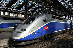 Bullet Train TGV-Duplex_Paris