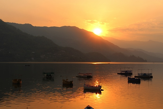Lake Phewa Sunset